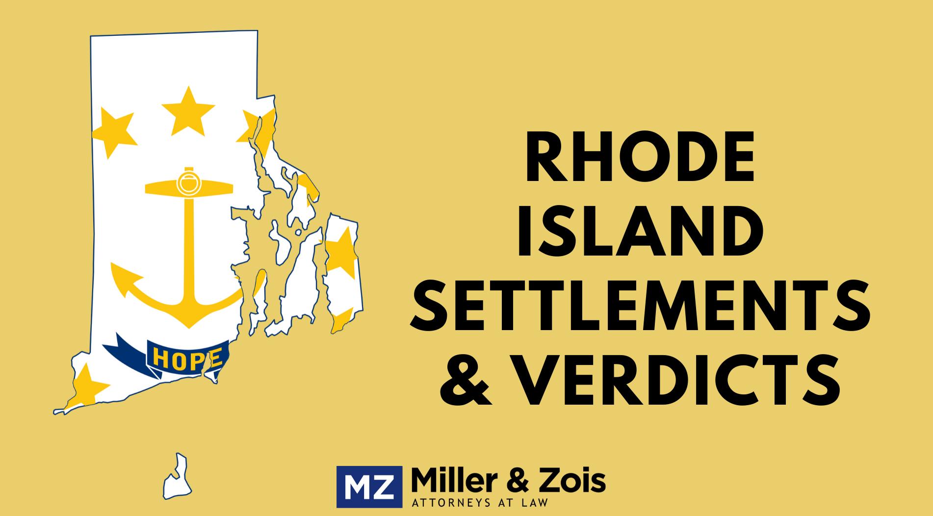 rhode island malpractice settlements